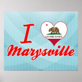 Amo Marysville, California Impresiones