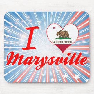 Amo Marysville, California Alfombrillas De Raton
