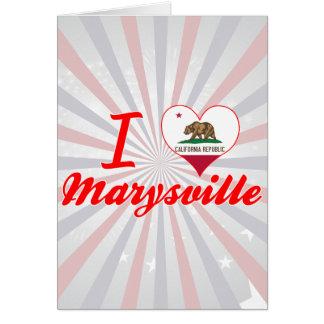 Amo Marysville, California Tarjeton