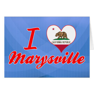 Amo Marysville, California Felicitacion