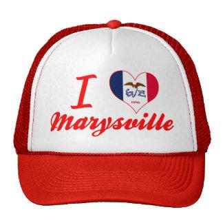 Amo Marysville, Iowa Gorras De Camionero