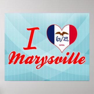 Amo Marysville, Iowa Poster