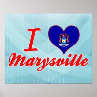Amo Marysville, Michigan Poster