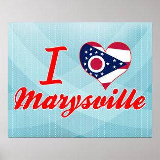 Amo Marysville, Ohio Impresiones