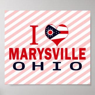 Amo Marysville, Ohio Poster