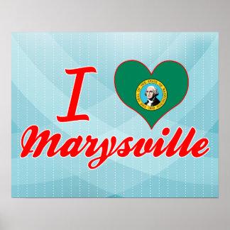 Amo Marysville, Washington Poster