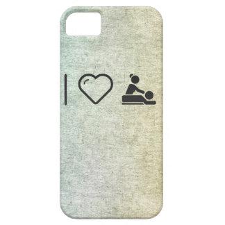 Amo masaje funda para iPhone 5 barely there