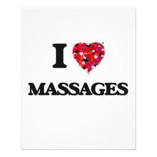 "Amo masajes folleto 4.5"" x 5.6"""