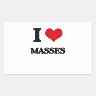 Amo masas rectangular altavoces