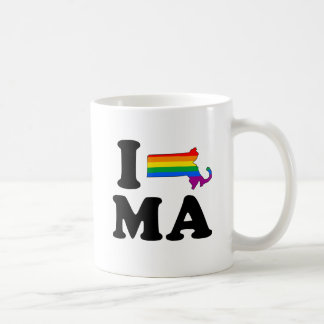 AMO MASSACHUSETTS GAY TAZAS DE CAFÉ