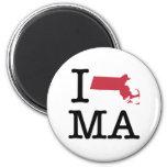 Amo Massachusetts Imanes Para Frigoríficos