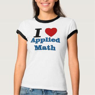 Amo matemáticas aplicada playera