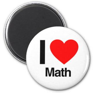 amo matemáticas imán
