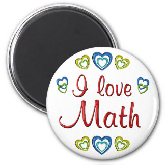 Amo matemáticas imanes