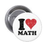 Amo matemáticas pin