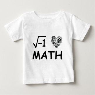 Amo matemáticas tee shirts