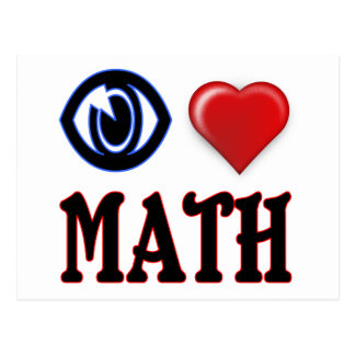 Amo matemáticas postales