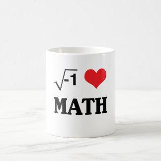 Amo matemáticas taza mágica