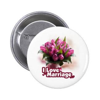 Amo matrimonio de la boda pin