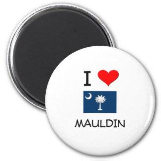 Amo Mauldin Carolina del Sur Imán Redondo 5 Cm