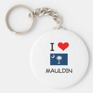 Amo Mauldin Carolina del Sur Llavero Redondo Tipo Pin