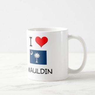 Amo Mauldin Carolina del Sur Taza Básica Blanca