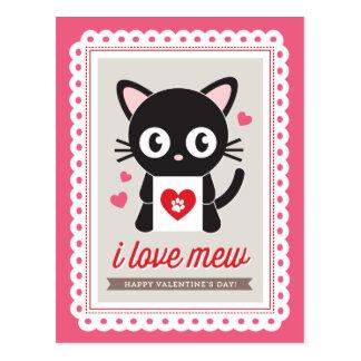 ¡Amo maúllo! por Origami imprime la postal de la t