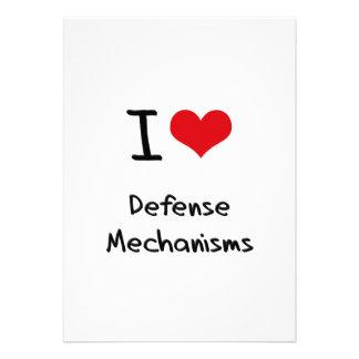 Amo mecanismos de defensa comunicado personalizado