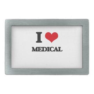 Amo médico hebilla de cinturon rectangular