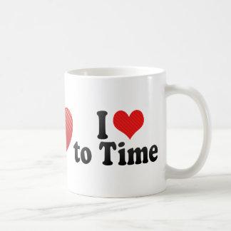 Amo medir el tiempo taza