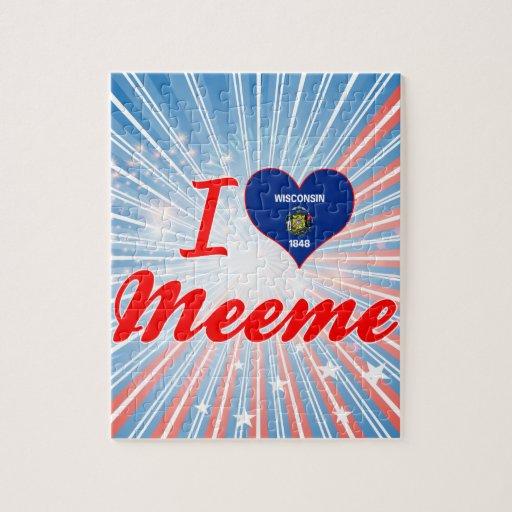 Amo Meeme, Wisconsin Puzzle Con Fotos