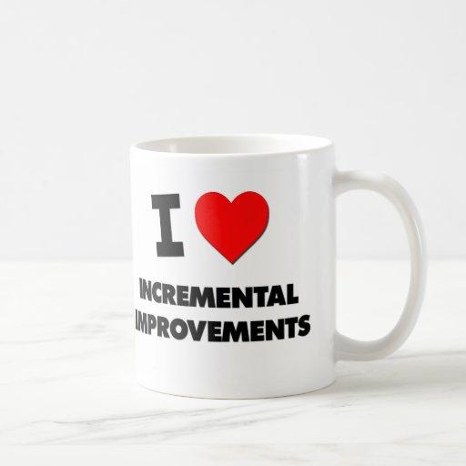Amo mejoras ampliadas tazas de café