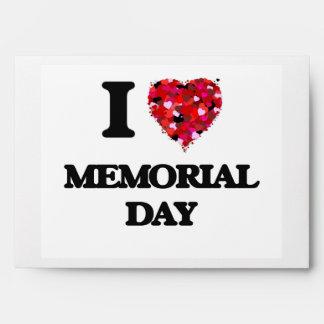 Amo Memorial Day Sobres