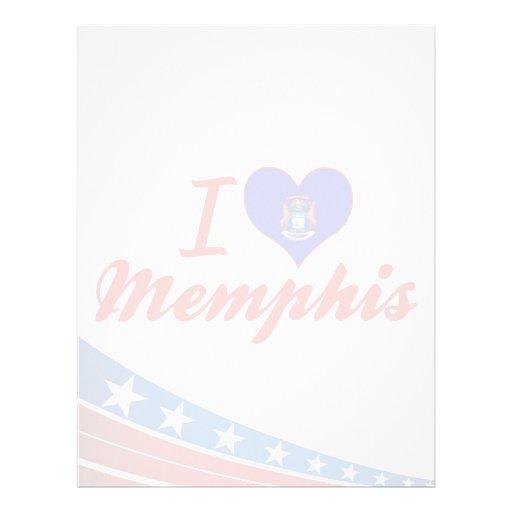 Amo Memphis, Michigan Membrete