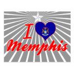 Amo Memphis, Michigan Tarjetas Postales
