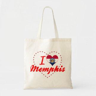 Amo Memphis, Missouri Bolsa De Mano