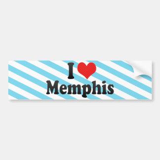 Amo Memphis Pegatina Para Auto
