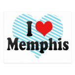 Amo Memphis Tarjetas Postales