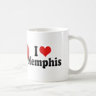 Amo Memphis Taza Básica Blanca