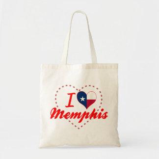 Amo Memphis, Tejas Bolsas Lienzo