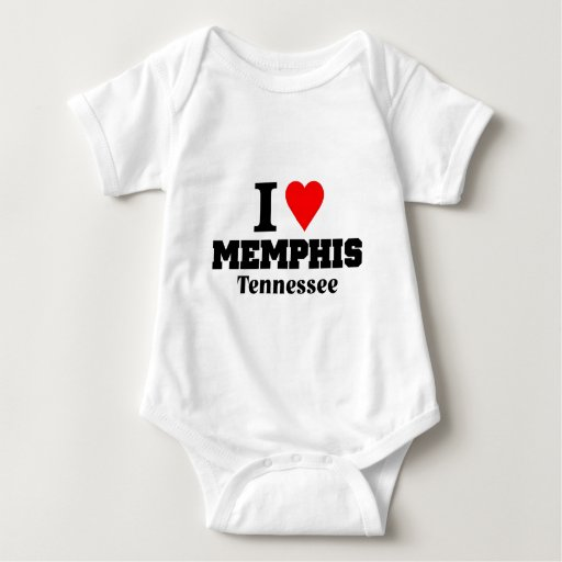 Amo Memphis Tenessee Playeras