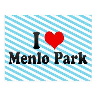 Amo Menlo Park, Estados Unidos Tarjetas Postales