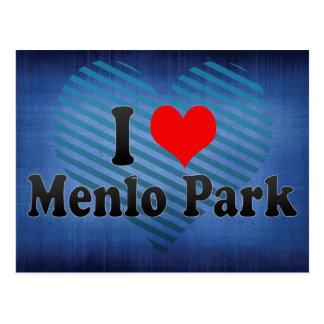 Amo Menlo Park, Estados Unidos Tarjeta Postal