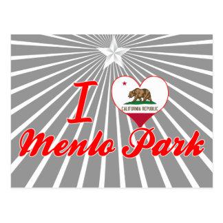 Amo Menlo+Parque, California Postales