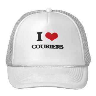 Amo mensajeros gorras