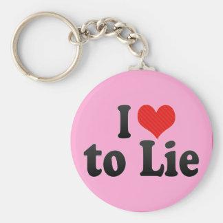 Amo mentir llavero