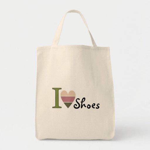 Amo mercancía de los zapatos bolsas