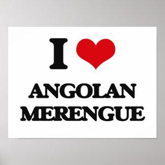Amo MERENGUE ANGOLANO Poster