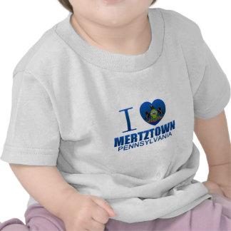 Amo Mertztown PA Camiseta