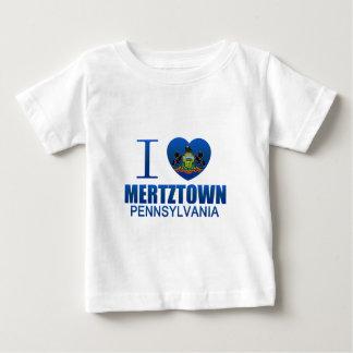 Amo Mertztown, PA Playera De Bebé